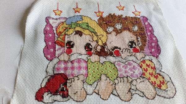 Imagen Cuadro de niños con estrellas