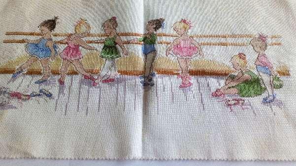 Imagen Cuadro de niñas bailarinas