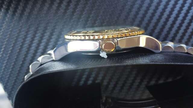 Imagen producto Reloj con lingote de oro puro 999  3