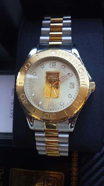 Imagen producto Reloj con lingote de oro puro 999  6