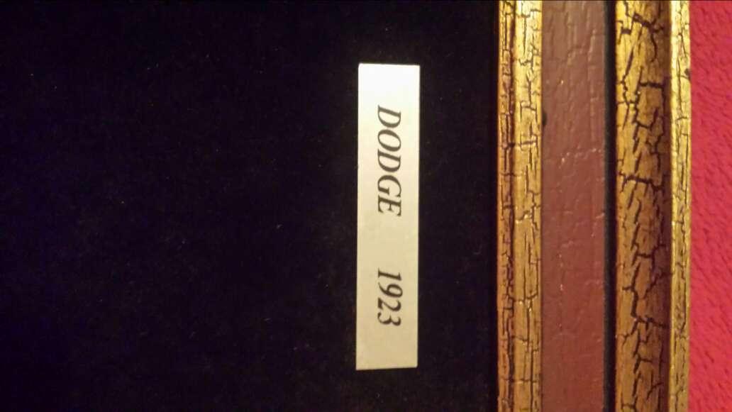 Imagen producto Cuadro DODGE 1923  6