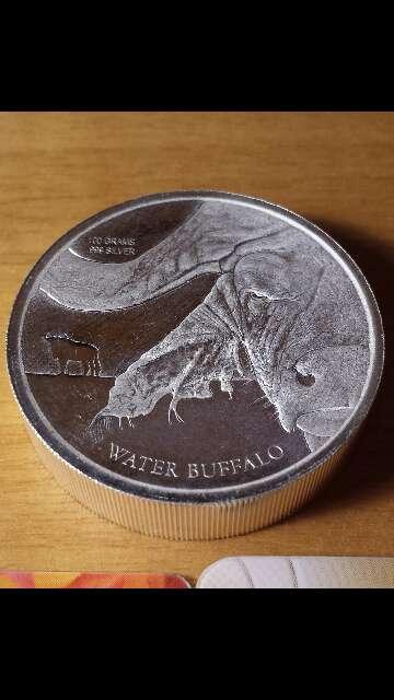 Imagen producto Moneda de plata pura 999 de 100 gramos  5