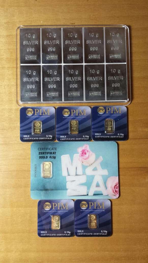 Imagen Venta de Pack económico de inversión oro ,plata