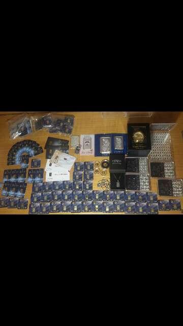 Imagen producto Venta de Pack económico de inversión oro ,plata  2
