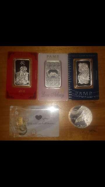 Imagen producto Venta de Pack económico de inversión oro ,plata  3