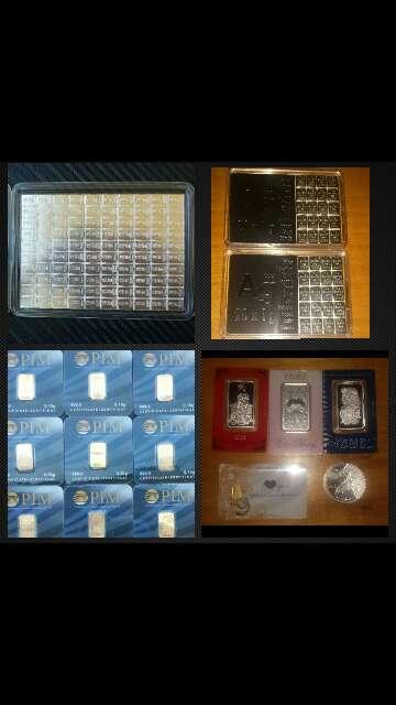 Imagen producto Venta de Pack económico de inversión oro ,plata  4