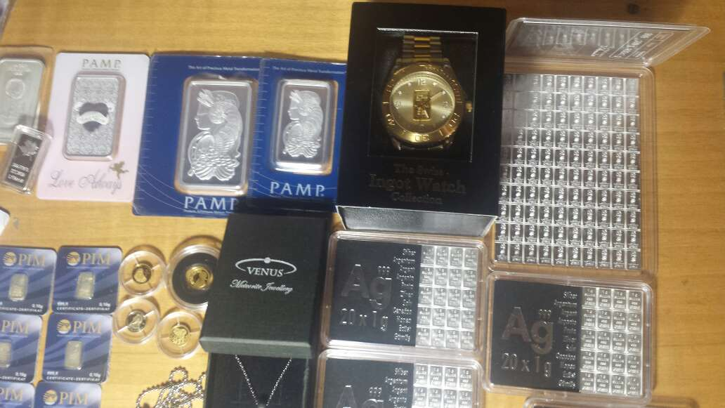 Imagen producto Venta de Pack económico de inversión oro ,plata  9