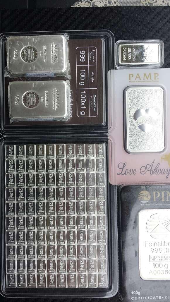 Imagen producto Venta de Pack económico de inversión oro ,plata  10
