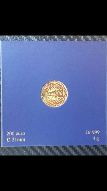 Imagen producto Moneda de oro puro 999 de 200 euros  3
