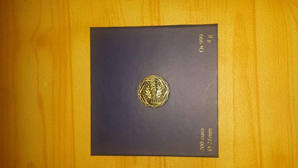Imagen producto Moneda de oro puro 999 de 200 euros  8