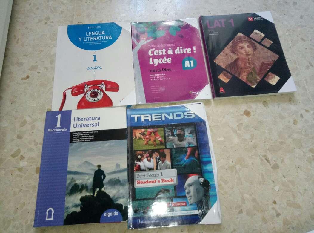 Imagen Libros de bachillerato