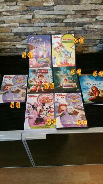 Imagen DVDS infantiles DISNEY