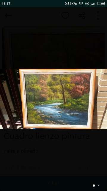 Imagen cuadro pintado al óleo
