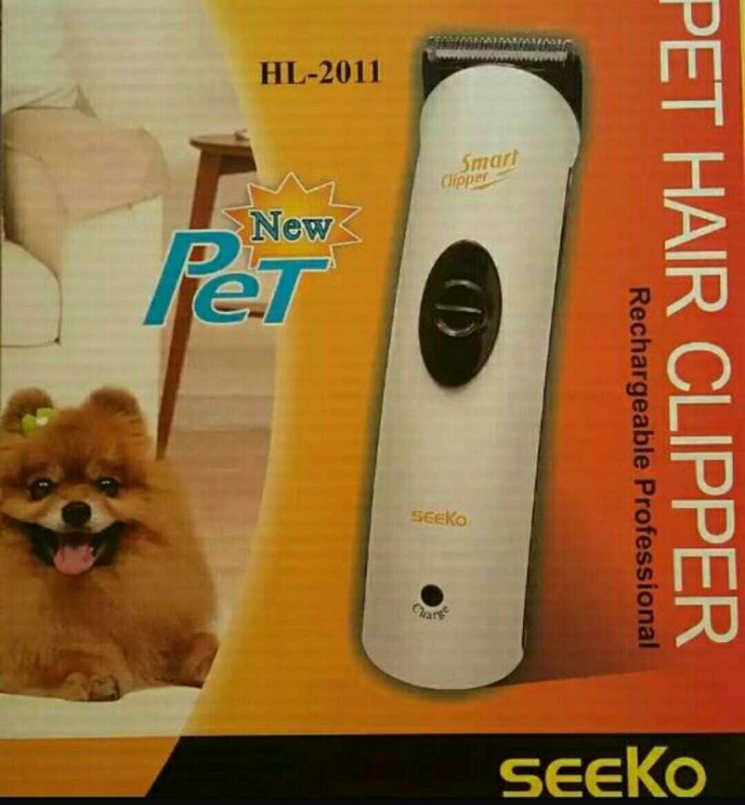 Imagen producto Maq.mascotas cortapelo inalámbrica nueva  2