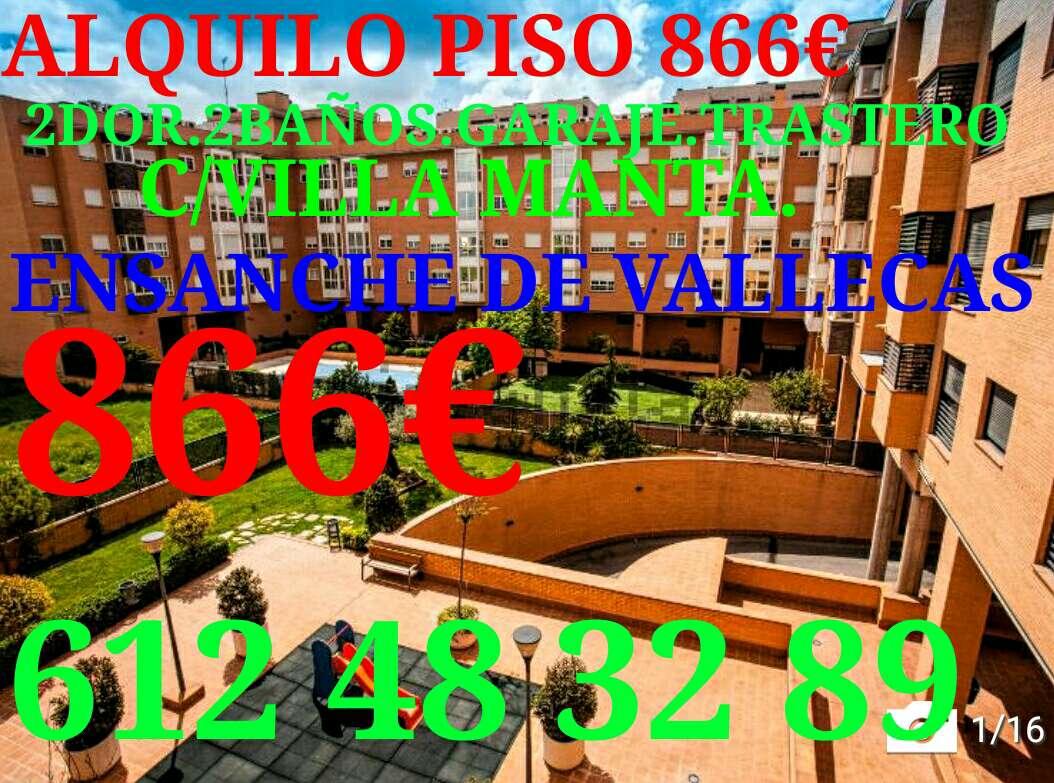 Imagen Urb.privada.piso 2Dor. 2 baños. garaje+trastero