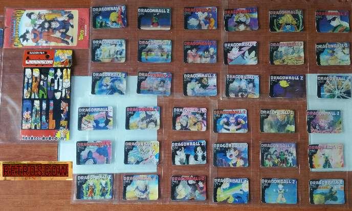 Imagen Dragon ball colección completa changing cards