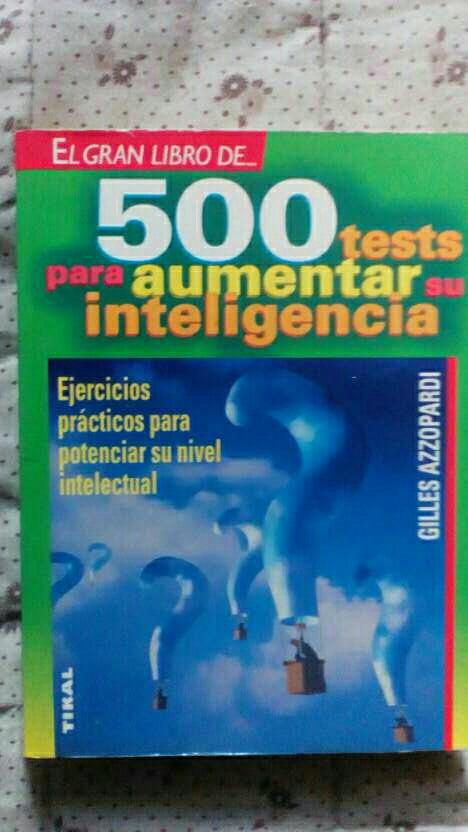 Imagen producto Test para aumentar su inteligencia 1