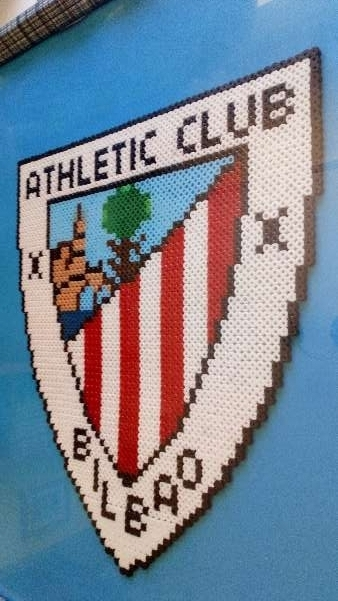Imagen Cuadro del escudo del athletic club de Bilbao