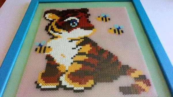 Imagen Cuadro de tigre
