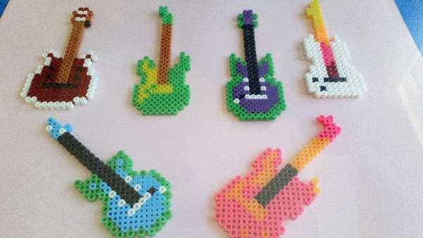 Imagen Cuadro de guitarras