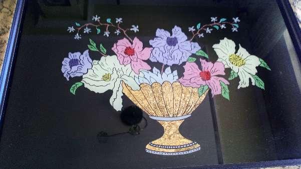 Imagen Cuadro de jarrón con flores