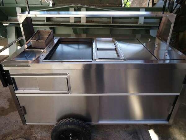 Imagen venta de carrito de Hot Dog