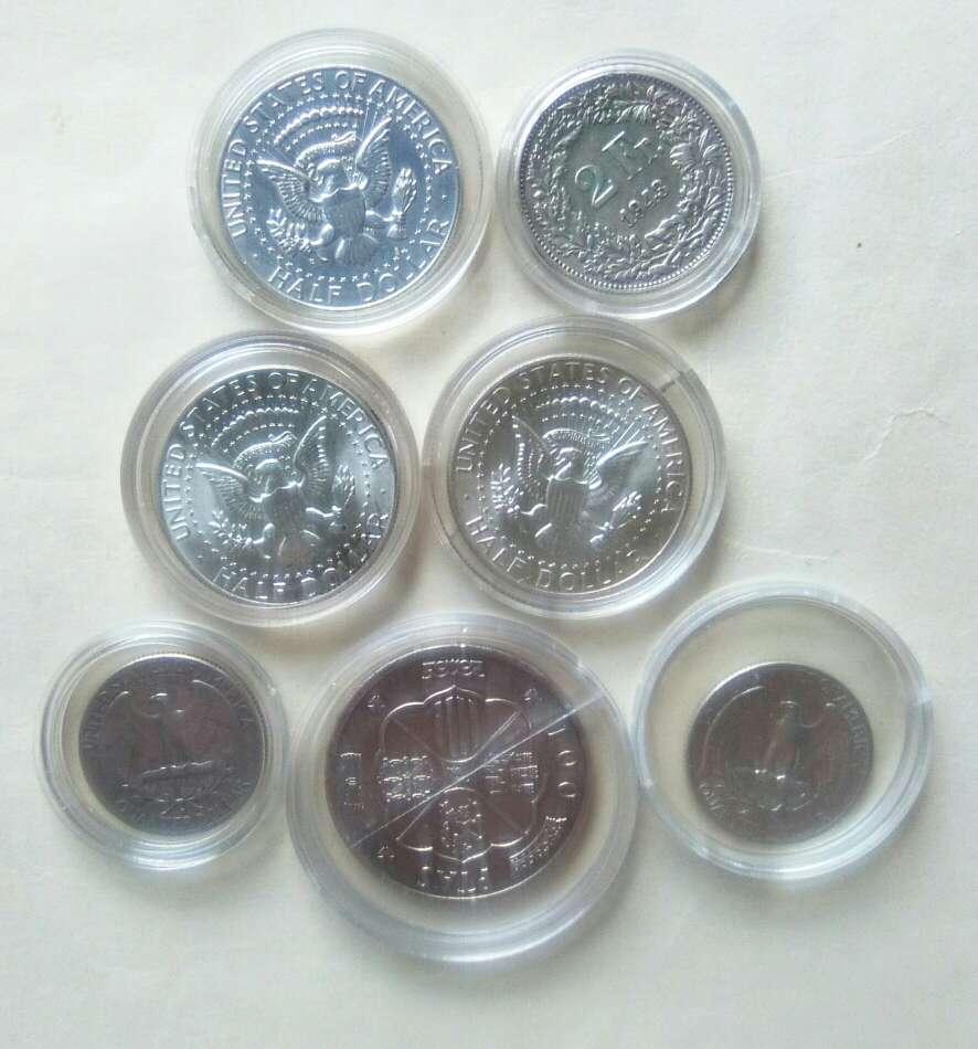 Imagen 7 Monedas de plata.