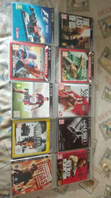 Imagen Juegos PS3 y PSP