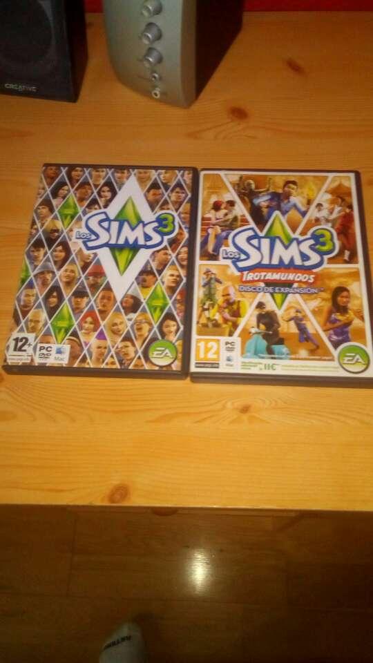 Imagen los Sims 3 versión original+trotamundos