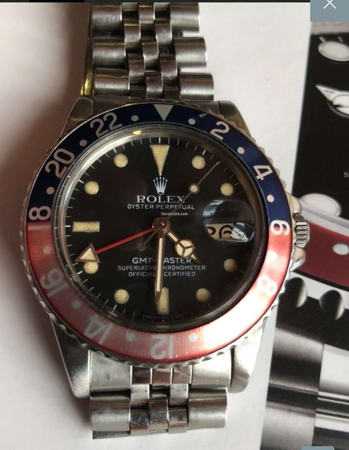 Imagen producto Rolex GMT Master  1