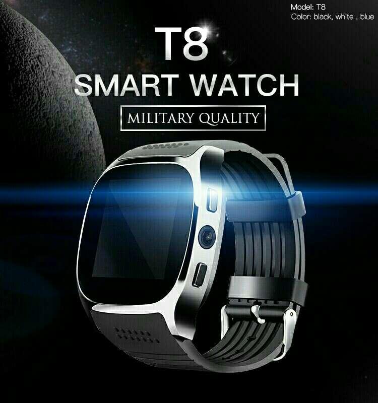 Imagen Reloj inteligente T8 Nuevo color negro