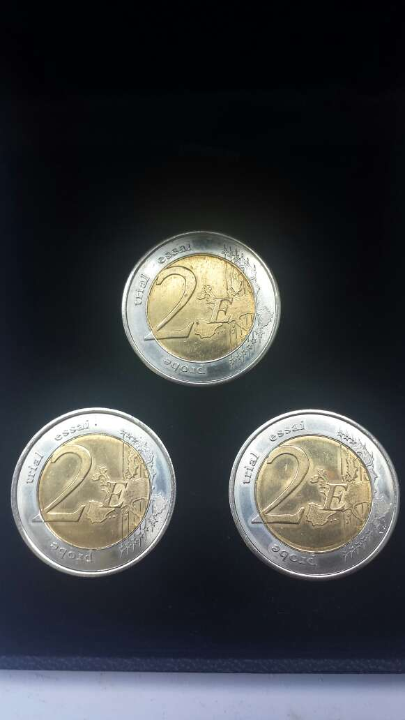 Imagen Monedas San Marino, Mónaco, Vaticano