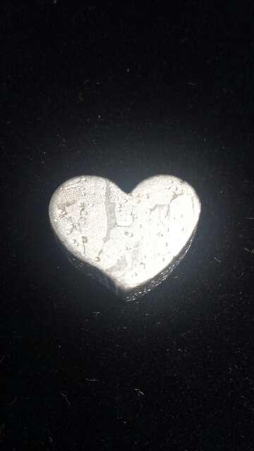 Imagen producto Meteorito Seymchan Corazón para colgante o colección  7