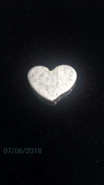 Imagen producto Meteorito Seymchan Corazón para colgante o colección  8