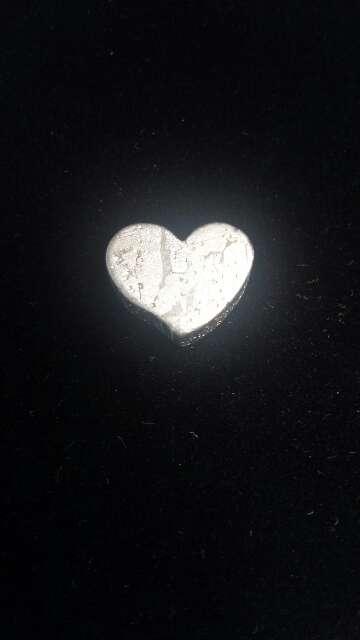 Imagen producto Meteorito Seymchan Corazón para colgante o colección  9