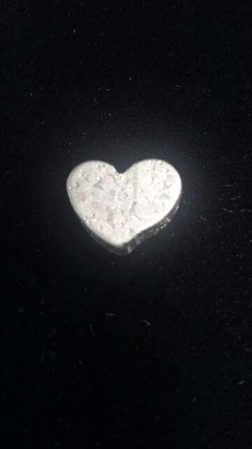Imagen producto Meteorito Seymchan Corazón para colgante o colección  6