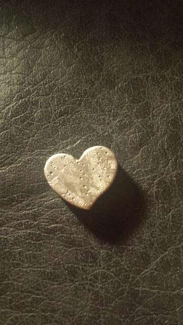 Imagen producto Meteorito Seymchan Corazón para colgante o colección  5