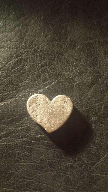 Imagen producto Meteorito Seymchan Corazón para colgante o colección  4