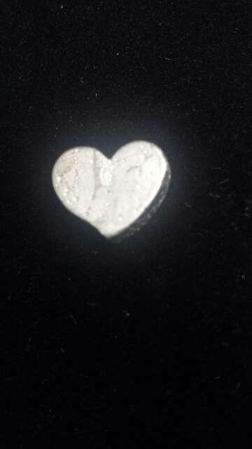 Imagen producto Meteorito Seymchan Corazón para colgante o colección  10
