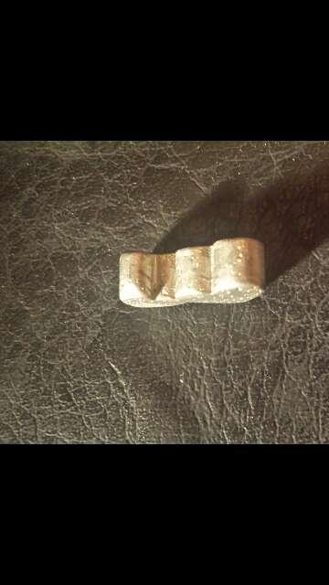 Imagen producto Doble corazón meteorito  3
