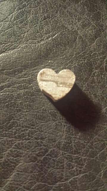 Imagen Pequeño corazón meteorito Seymchan