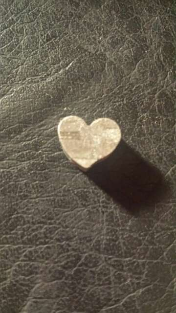 Imagen producto Pequeño corazón meteorito Seymchan  2