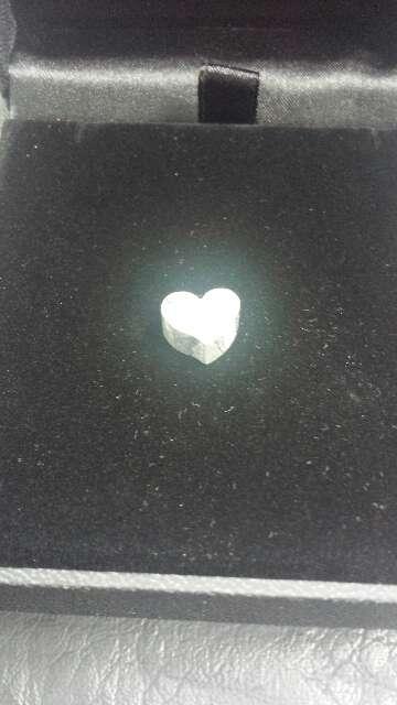 Imagen producto Pequeño corazón meteorito Seymchan  6