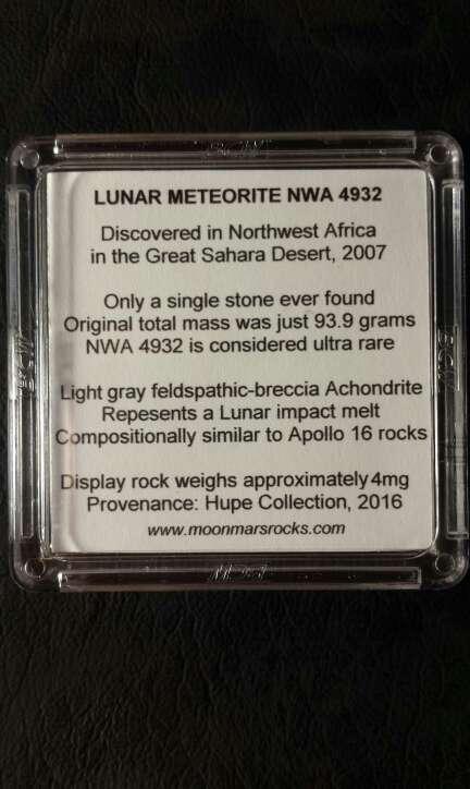 Imagen producto Meteorito Luna y Marte  6