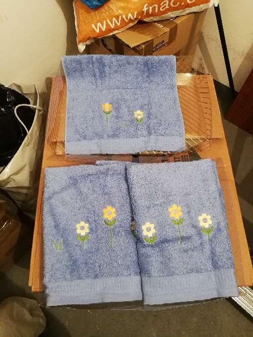 Imagen producto Juegos de toallas SIN ESTRENAR 2