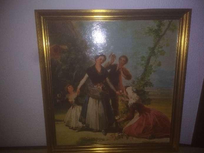 Imagen las floreras de Goya