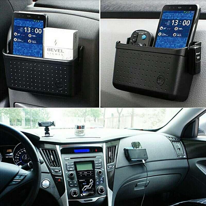 Imagen producto Caja organizadora adhesiva para vehículo  5