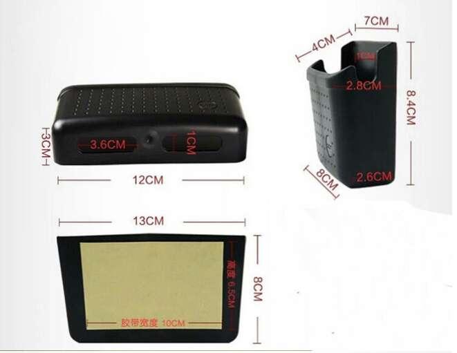 Imagen producto Caja organizadora adhesiva para vehículo  7