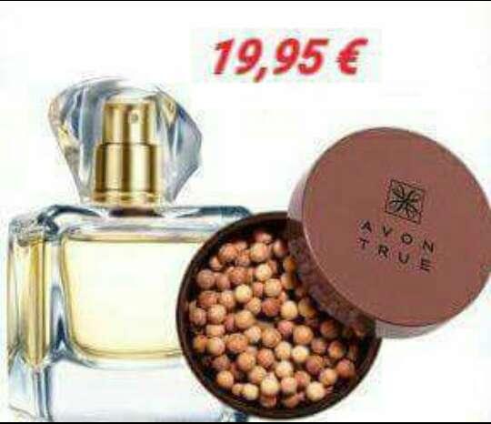 Imagen Perfume + perlas