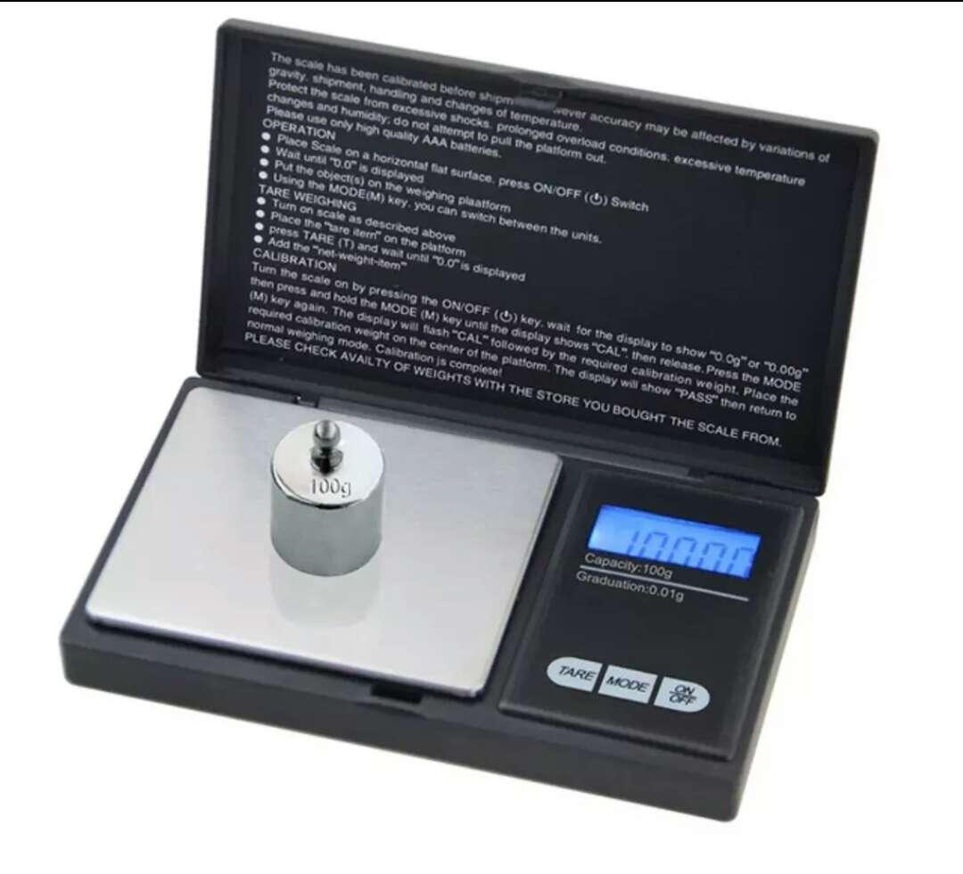 Imagen producto Bascula joyería-proteínas precisión nueva 3